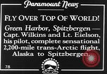 Image of George Hubert Wilkins Spitsbergen Svalbard Norway, 1928, second 3 stock footage video 65675070313