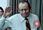 Image of Census workers oath of confidentiality United States USA, 1970, second 11 stock footage video 65675070325