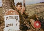 Image of American soldiers France, 1945, second 2 stock footage video 65675070341