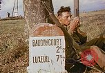 Image of American soldiers France, 1945, second 6 stock footage video 65675070341