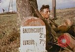 Image of American soldiers France, 1945, second 7 stock footage video 65675070341