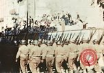 Image of French Colonial Forces on parade Marseille France, 1944, second 5 stock footage video 65675070344