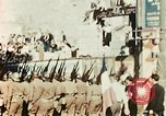 Image of French Colonial Forces on parade Marseille France, 1944, second 9 stock footage video 65675070344