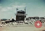 Image of wreckage on airfield France, 1944, second 2 stock footage video 65675070347
