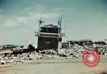 Image of wreckage on airfield France, 1944, second 3 stock footage video 65675070347