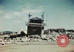 Image of wreckage on airfield France, 1944, second 4 stock footage video 65675070347