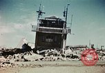 Image of wreckage on airfield France, 1944, second 6 stock footage video 65675070347
