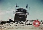 Image of wreckage on airfield France, 1944, second 7 stock footage video 65675070347