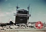 Image of wreckage on airfield France, 1944, second 8 stock footage video 65675070347