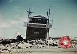 Image of wreckage on airfield France, 1944, second 9 stock footage video 65675070347