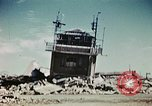 Image of wreckage on airfield France, 1944, second 10 stock footage video 65675070347