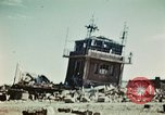 Image of wreckage on airfield France, 1944, second 11 stock footage video 65675070347