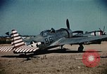 Image of P-47s of the USAAF 86th Fighter Group Corsica France, 1944, second 2 stock footage video 65675070348