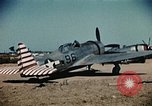 Image of P-47s of the USAAF 86th Fighter Group Corsica France, 1944, second 3 stock footage video 65675070348