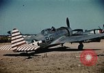 Image of P-47s of the USAAF 86th Fighter Group Corsica France, 1944, second 4 stock footage video 65675070348