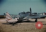 Image of P-47s of the USAAF 86th Fighter Group Corsica France, 1944, second 6 stock footage video 65675070348