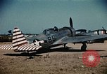 Image of P-47s of the USAAF 86th Fighter Group Corsica France, 1944, second 7 stock footage video 65675070348