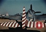 Image of P-47s of the USAAF 86th Fighter Group Corsica France, 1944, second 10 stock footage video 65675070348