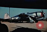 Image of P-47s of the USAAF 86th Fighter Group Corsica France, 1944, second 11 stock footage video 65675070348