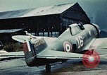 Image of wrecked aircraft France, 1944, second 4 stock footage video 65675070350