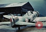 Image of wrecked aircraft France, 1944, second 7 stock footage video 65675070350