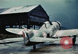 Image of wrecked aircraft France, 1944, second 9 stock footage video 65675070350