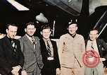 Image of American flyers escaped from Swiss internment Annecy France, 1944, second 2 stock footage video 65675070351