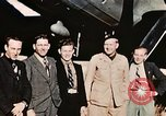 Image of American flyers escaped from Swiss internment Annecy France, 1944, second 3 stock footage video 65675070351