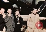 Image of American flyers escaped from Swiss internment Annecy France, 1944, second 6 stock footage video 65675070351