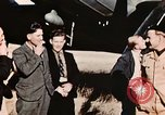 Image of American flyers escaped from Swiss internment Annecy France, 1944, second 8 stock footage video 65675070351