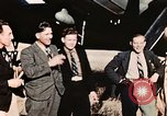 Image of American flyers escaped from Swiss internment Annecy France, 1944, second 9 stock footage video 65675070351