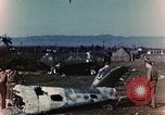 Image of Destroyed German warplanes in World War 2 France, 1944, second 3 stock footage video 65675070352