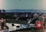 Image of Destroyed German warplanes in World War 2 France, 1944, second 4 stock footage video 65675070352
