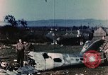 Image of Destroyed German warplanes in World War 2 France, 1944, second 6 stock footage video 65675070352