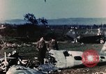 Image of Destroyed German warplanes in World War 2 France, 1944, second 8 stock footage video 65675070352