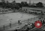 Image of swim meet Los Angeles California USA, 1966, second 7 stock footage video 65675070356