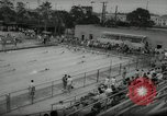 Image of swim meet Los Angeles California USA, 1966, second 9 stock footage video 65675070356