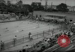 Image of swim meet Los Angeles California USA, 1966, second 10 stock footage video 65675070356