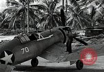 Image of American pilots Espiritu Santo Vanuatu, 1943, second 3 stock footage video 65675070357