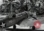 Image of American pilots Espiritu Santo Vanuatu, 1943, second 7 stock footage video 65675070357