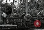 Image of construction work Espiritu Santo Vanuatu, 1943, second 11 stock footage video 65675070359