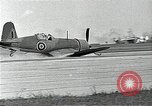 Image of British Royal Navy F4U Corsair aircraft Brooklyn New York USA, 1943, second 8 stock footage video 65675070361