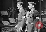 Image of military police United States USA, 1944, second 1 stock footage video 65675070365