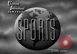 Image of harness racing Goshen New York USA, 1947, second 2 stock footage video 65675070371