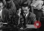 Image of Senate investigation Washington DC USA, 1947, second 9 stock footage video 65675070373