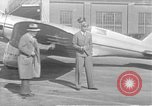 Image of Howard Hughes flight from Chicago to Los Angeles Chicago Illinois USA, 1936, second 1 stock footage video 65675070375