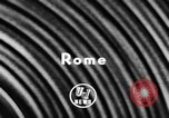 Image of Pope Pius XII Rome Italy, 1957, second 2 stock footage video 65675070383