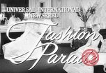 Image of fashion show Rome Italy, 1957, second 1 stock footage video 65675070385