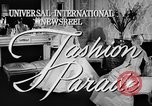 Image of fashion show Rome Italy, 1957, second 3 stock footage video 65675070385