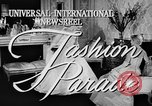 Image of fashion show Rome Italy, 1957, second 4 stock footage video 65675070385